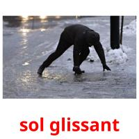 sol glissant picture flashcards