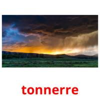 tonnerre picture flashcards