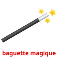 baguette magique picture flashcards