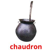 chaudron picture flashcards
