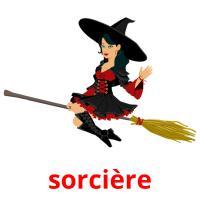 sorcière picture flashcards