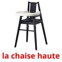 la chaise haute picture flashcards