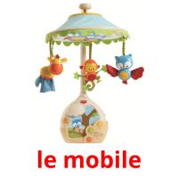 le mobile picture flashcards