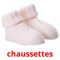 chaussettes picture flashcards