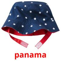 panama picture flashcards