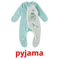 pyjama picture flashcards