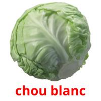 chou blanc picture flashcards