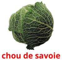 chou de savoie card for translate
