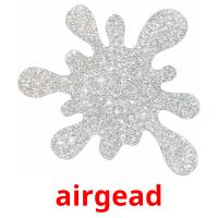 airgead picture flashcards