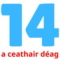 a ceathair déag picture flashcards