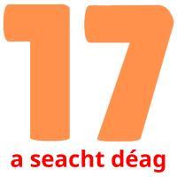 a seacht déag picture flashcards