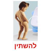 להשתין picture flashcards