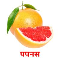 पपनस picture flashcards
