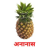 अनानास picture flashcards