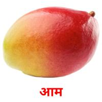 आम picture flashcards