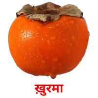 ख़ुरमा picture flashcards