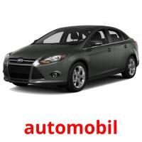 automobil picture flashcards