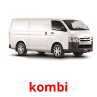 kombi picture flashcards