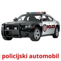 policijski automobil picture flashcards
