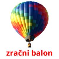 zračni balon picture flashcards
