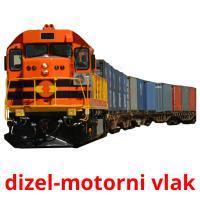 dizel-motorni vlak picture flashcards