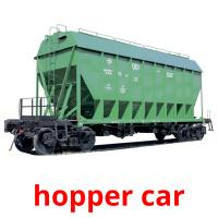 hopper car picture flashcards