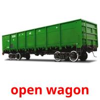 open wagon picture flashcards