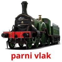 parni vlak picture flashcards
