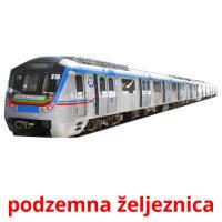 podzemna željeznica picture flashcards