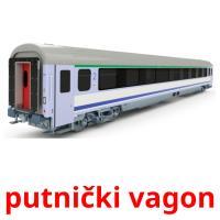 putnički vagon picture flashcards