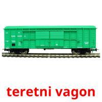 teretni vagon picture flashcards