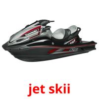 jet skii picture flashcards