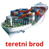 teretni brod picture flashcards