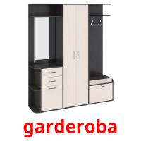 garderoba picture flashcards