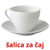 šalica za čaj picture flashcards