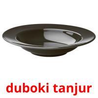 duboki tanjur picture flashcards