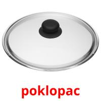 poklopac picture flashcards
