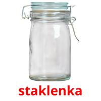staklenka picture flashcards