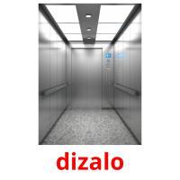 dizalo picture flashcards