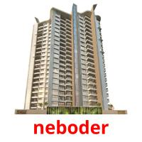 neboder picture flashcards