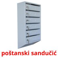 poštanski sandučić picture flashcards