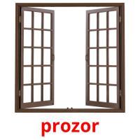 prozor picture flashcards