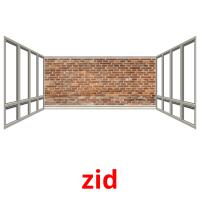 zid picture flashcards