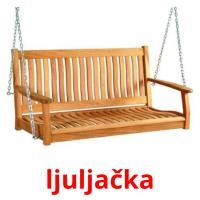 ljuljačka picture flashcards