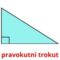 pravokutni trokut picture flashcards
