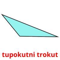 tupokutni trokut picture flashcards