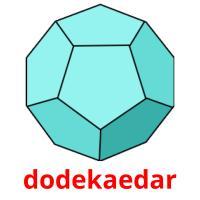 dodekaedar picture flashcards