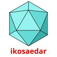ikosaedar picture flashcards