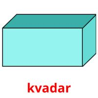 kvadar picture flashcards