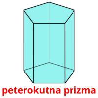 peterokutna prizma picture flashcards